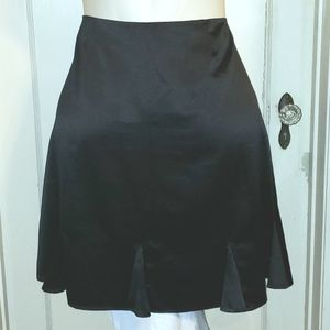 Plus size Notations black bell flare skirt XL 16
